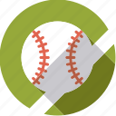ball, baseball, game, sportix, sports icon