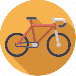 bicycle, bike, cycling, mountain bike, outdoors, sportix, sports icon