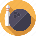ball, bowling, pin, sportix, sports icon