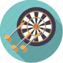 arrows, darts, pub sports, sportix, sports, target icon