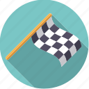 checkered, finish, flag, motor sports, racing, sportix, sports