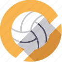 ball, handball, sportix, sports, volleyball icon