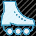 ice roller, inline skates, roller skating, skates, skating, sportive boot, sports icon