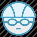 glasses, goggles, sport, swim, swimming cap, swimming glasses, swimming player icon