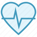 beat, bodybuilding, health, healthy, heart, heart rate, pulse icon