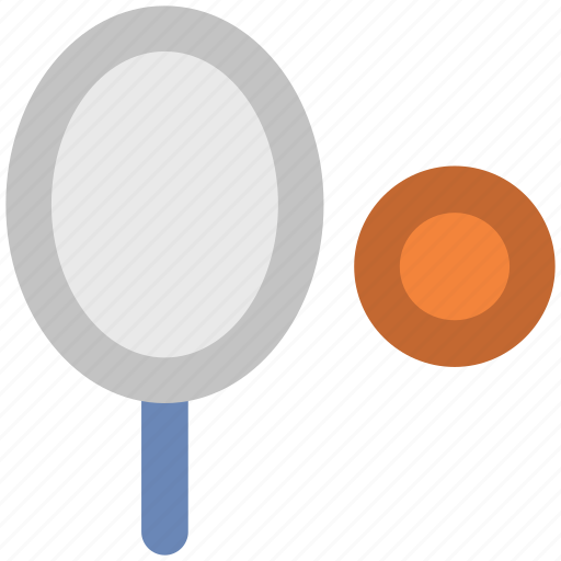 badminton racket, ball, racket, sports, squash racket, tennis ball, tennis racket icon