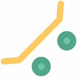 fun board, ice skateboard, ice skating, skateboard, ski board, surfboard icon