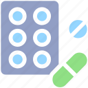 bodybuilding, capsule, drug, health, medicine, pill, pills icon