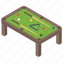 billiard, gambling, indoor game, pool game, snooker, snooker table icon