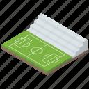 football area, football field, football pitch, play area, playground, stadium icon