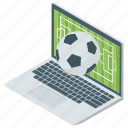live broadcasting, online match, online sports, soccer match broadcast, sports icon