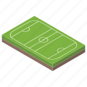 football area, football field, football pitch, play area, playground icon