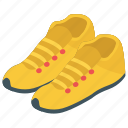 climbing shoes, joggers, sneakers, sports shoes icon