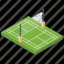 playground, sports ground, tennis arena, tennis court, tournament ground