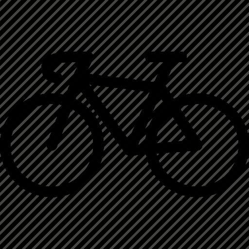 bicycle, bike, exercise, line-icon, motorbike, sports icon