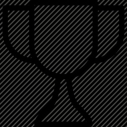 achievement, cup, line-icon, prize, sports icon