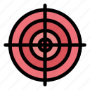 circle, goal, point, strategy, target