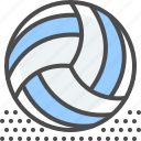 ball, beach, match, play, sport, team, volleyball icon