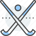 ball, bandy, field, ice, match, racket, winter icon