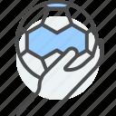 game, handball, indoor, match, play, team icon