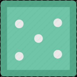 casino, cube, dice, gamble, gambling, game icon