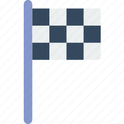 flag, game, play, racing, sport icon