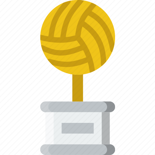 game, play, sport, trophy, volleyball icon