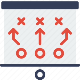 game, match, play, sport, tactics icon