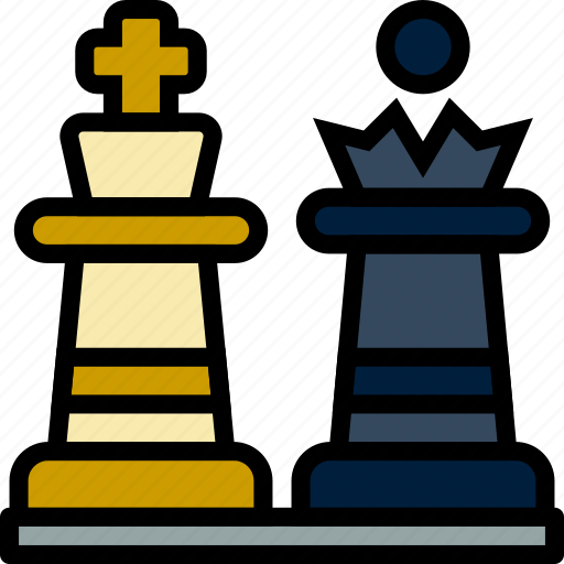 chess, game, pieces, play, sport icon