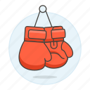 2, arts, boxing, equipment, gear, gloves, martial, sports icon