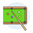 game, billiards, cue, pocket, pool, stick, sports, table