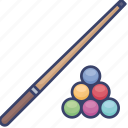 ball, billiard, cue, game, pool, snooker, sport