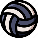 sport, volley, championship, volleyball, beach, activity, ball icon