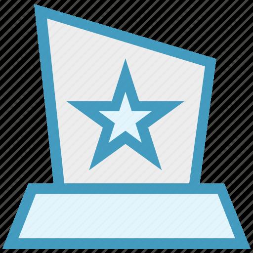 Award, medal, position, prize, reward, star icon - Download on Iconfinder
