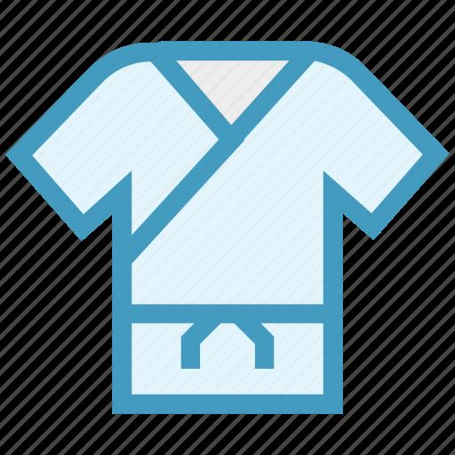 Clothe, judo, karate, karate dress, martial, ninja, taekwondo icon - Download on Iconfinder