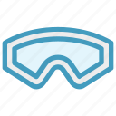 diving, eyeglasses, glasses, goggles, safety glasses, swimming, swimming goggles icon