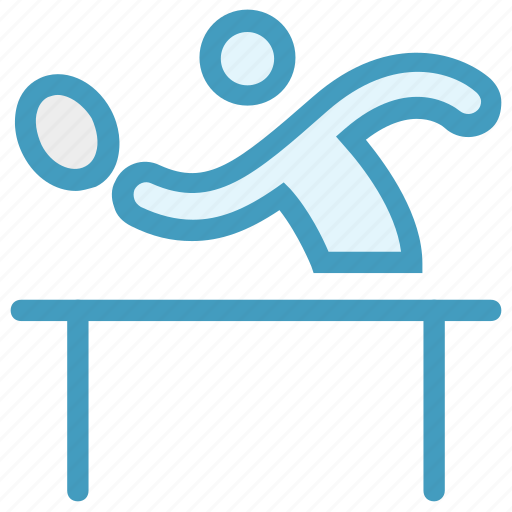 Ping pong, player, sports, table tennis, tennis player icon - Download on Iconfinder