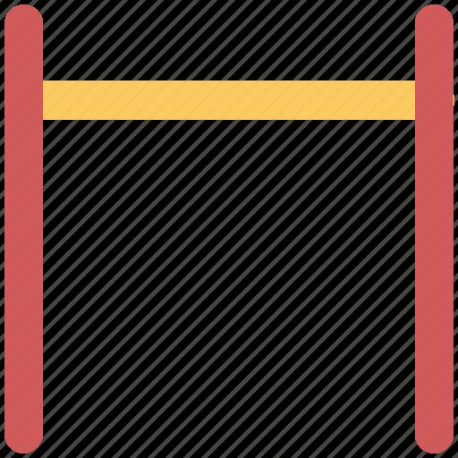 barricade, barrier, construction hurdle, hurdle, precaution, road barrier, safety hurdle icon