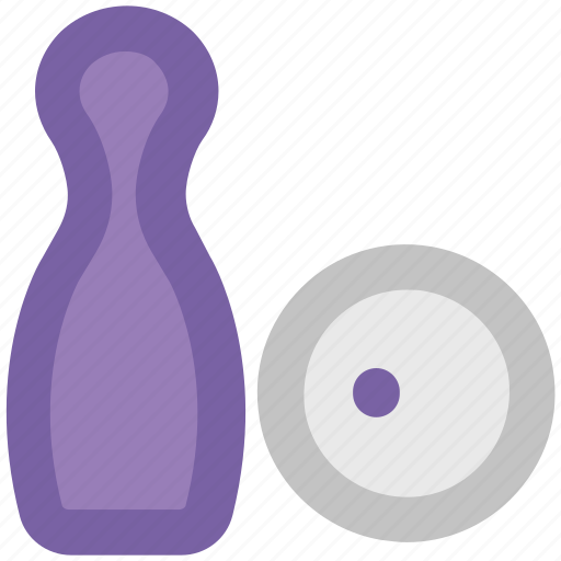 alley pins, bowling ball, bowling game, bowling pins, game, hitting pins, sports, tenpins icon