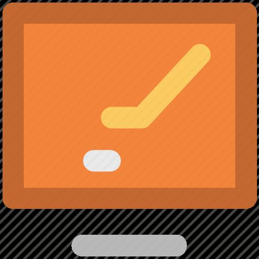 display, hockey match, led, live match, monitor screen, screen icon