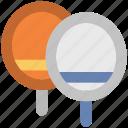 game, sports, tennis bat, tennis equipment, tennis racket icon