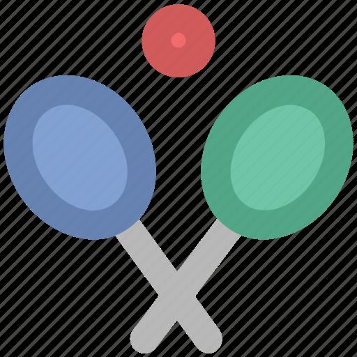 badminton racket, ball, racket, sports, squash racket, tennis ball, tennis racket icon
