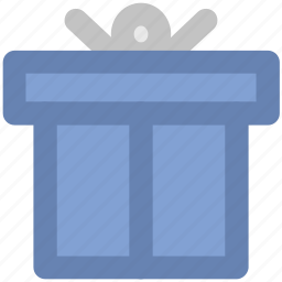 gift, gift box, present, surprise gift, wrapped gift icon