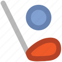 ball, golf stick, hockey, hockey stick, sports, sports ball icon