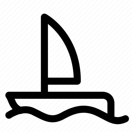boat, cruise, sailing, ship, transport, vehicle icon