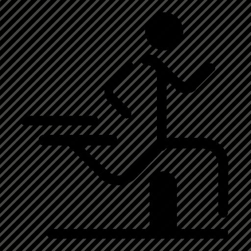 hurdle, race icon