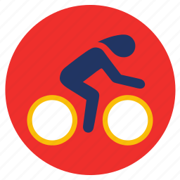 cycling, games, ride, sports icon