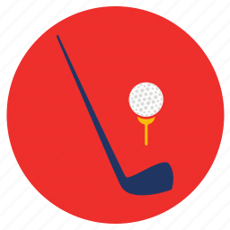 games, golf, play, sports icon