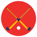 games, hockey, play, sports, stick icon