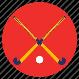 games, hockey, play, sports, stick icon